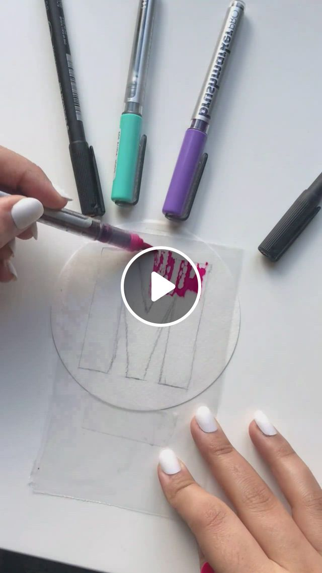 Coloring Idea - Video & GIFs | diy art painting, easy diy art, diy canvas art, diy crafts hacks, diy crafts for gifts, diy projects, diys, diy crafts, creative crafts, easy crafts, art diy, art drawings sketches simple