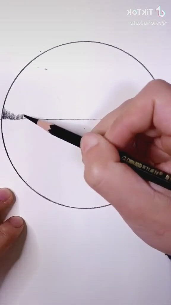 View Drawing Idea - Video & GIFs | art drawings beautiful,art drawings sketches simple,art drawings sketches pencil,pencil art drawings,pencil drawings of nature,watercolor pencil art,chalk drawings,3d art drawing,drawing ideas,easy 3d drawing