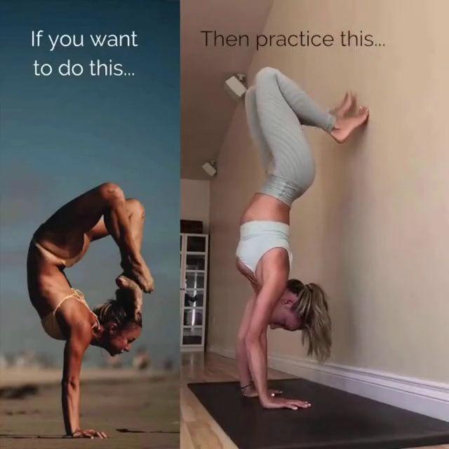 Hand Standing Yoga