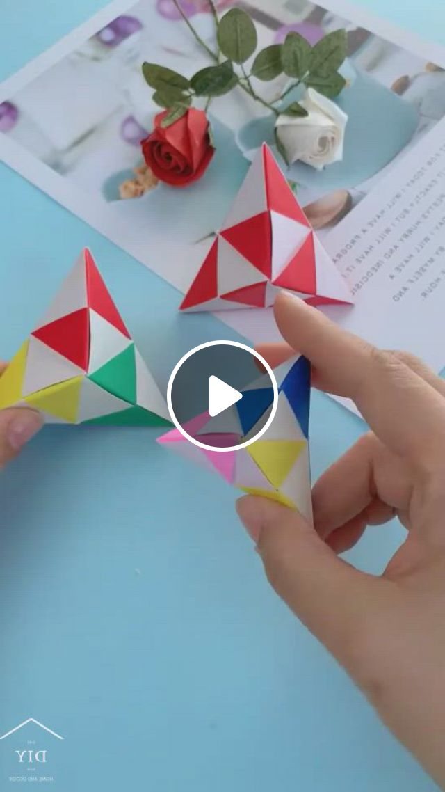 Origami Fingertip Toys - Video & GIFs   paper crafts diy kids, handmade paper crafts, origami crafts, origami toys, origami gift box, origami , paper crafts origami, origami cube, diy origami, diy crafts for girls, diy crafts to do, diy craft projects