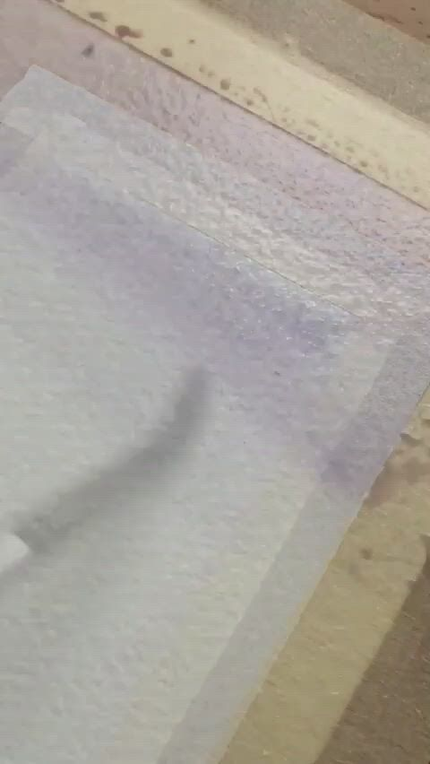 Easy watercolor painting idea for beginners - Video & GIFs | diy art painting,watercolor art lessons,watercolor paintings for beginners,easy canvas art,small canvas art,easy art,simple art,diy canvas,watercolor techniques,painting with watercolors,simple paintings for beginners