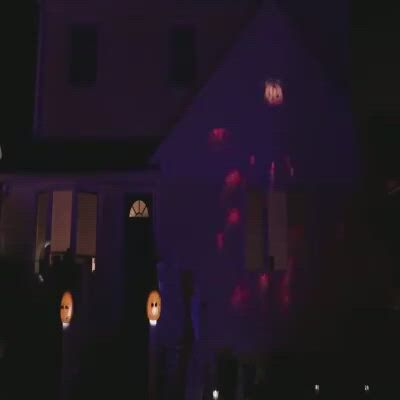 new housing projection lamp,halloween projection decoration