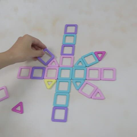 Toy ideas for kids.Magnetic Tiles Magnetic Blocks Toys for Kids, Boys and Girls.Christmas gift ideas - Video & GIFs | mainan,toddler toys,kids toys,new year gifts,best christmas toys,shape matching,popular toys,funny toys,mickey mouse and friends
