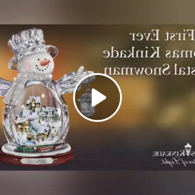 Masterpiece Edition Crystal Snowman,Christmas Gift Ideas - Video & GIFs   christmas gifts, christmas, christmas fun, best christmas gifts, christmas snowman, christmas ideas, snow globes, gift ideas, crystals, crystal, crystals minerals, gift tags