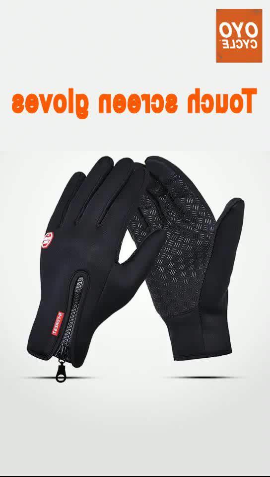 Windproof Waterproof Winter Warm Gloves Unisex