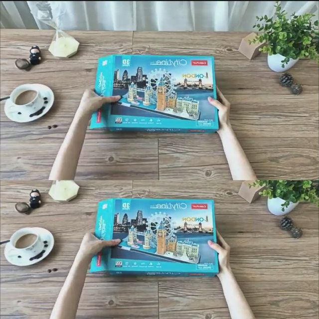Wooden 3D puzzle for adult, kids.Toy ideas for kids.Christmas gift ideas
