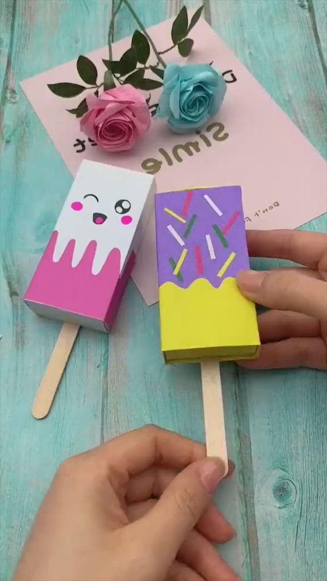 DIY Box Origami Papercraft