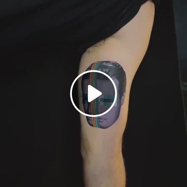 Empire Tattoo - Video & GIFs | inspirational tattoos, tattoos, color tattoo, paw print tattoo, color, inspiration