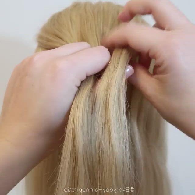 Amazing braid - Video & GIFs   bun hairstyles for long hair,braids for long hair,hair tutorial,baby girl hairstyles,dance hairstyles,pretty hairstyles,braided hairstyles,hairstyle men,style hairstyle,hairstyles 2018