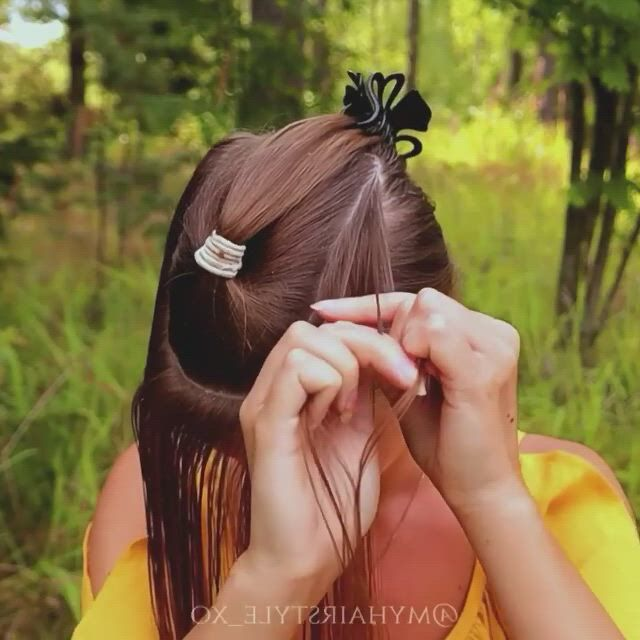 Cute Wedding Hairstyle Video Gifs Messy Hairstyles Style Hairstyle Hairstyles 2018 Gents Hair Style Medium Hair Styles Long Hair Styles Hair Upstyles Colored Hair Tips