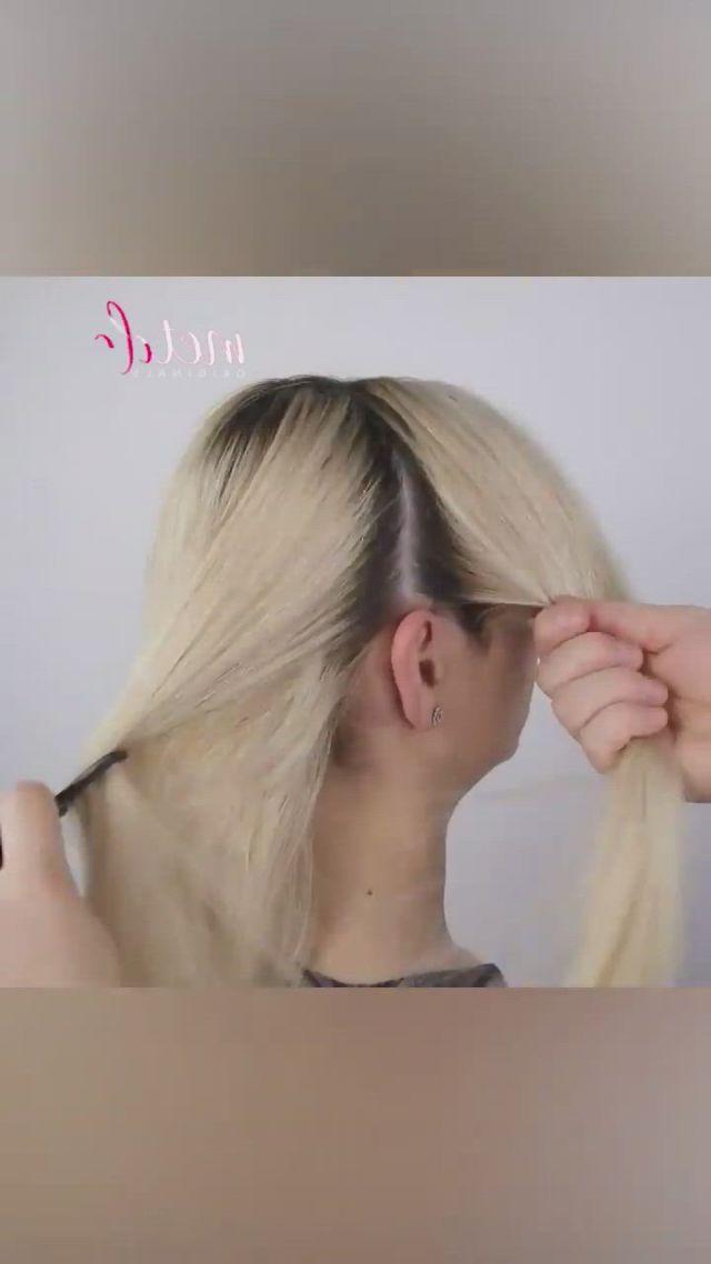 Easy elegant hairstyles
