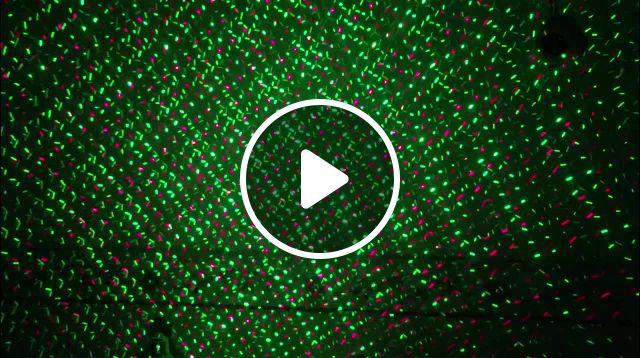 Waterproof Laser Projector Effect Light Fairy Sky Star - Video & GIFs   laser lights, star laser, laser show