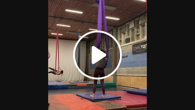 Blog Aerial Hammock Dance In Amsterdam - Video & GIFs | aerial dance, aerial yoga, aerial yoga poses, aerial hammock, aerial hoop, aerial silks, yoga teacher training bali, pole fitness, celebrity travel, yoga accessories, dance class