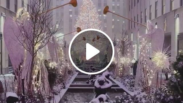 Magicallyrockefeller Center, New York - Video & GIFs | color, makeup, songs, jellyfish facts, jellyfish drawing, jellyfish painting, jellyfish tattoo, jellyfish quotes, jellyfish sting, watercolor jellyfish, jellyfish aquarium, watercolor painting