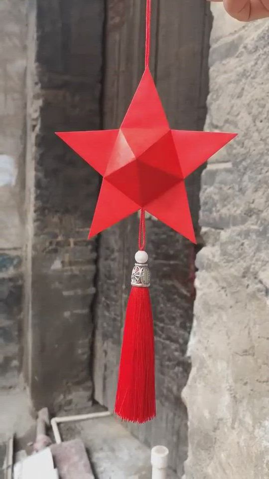 DIY Five pointed star