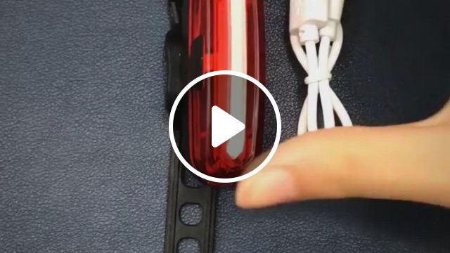 Taillight Safety Warning Bicycle Rear Light Lamp - Video & GIFs | abs material, buy bicycle, tail light