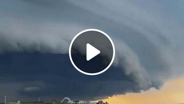 Amazing Cloud - Video & GIFs | beach picnic, beach fun, tornados, florida storm, wow , cloud drawing, wild weather, owl house
