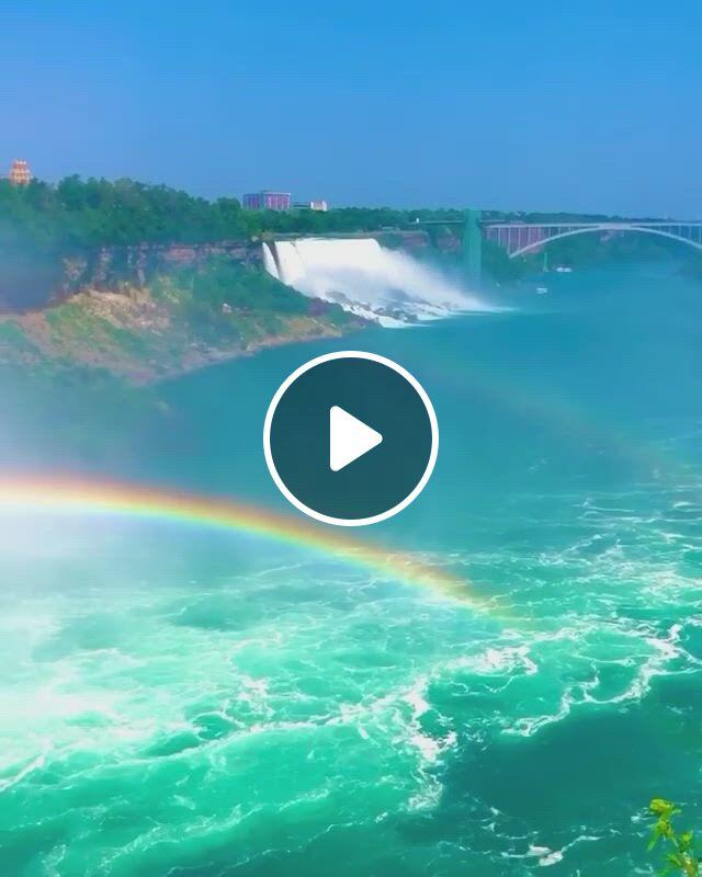Beautiful Waterfall - Video & GIFs | beautiful places nature, beautiful waterfalls, waterfall, beautiful world, beautiful places, niagara falls, landscapes, ocean, , unique, nature