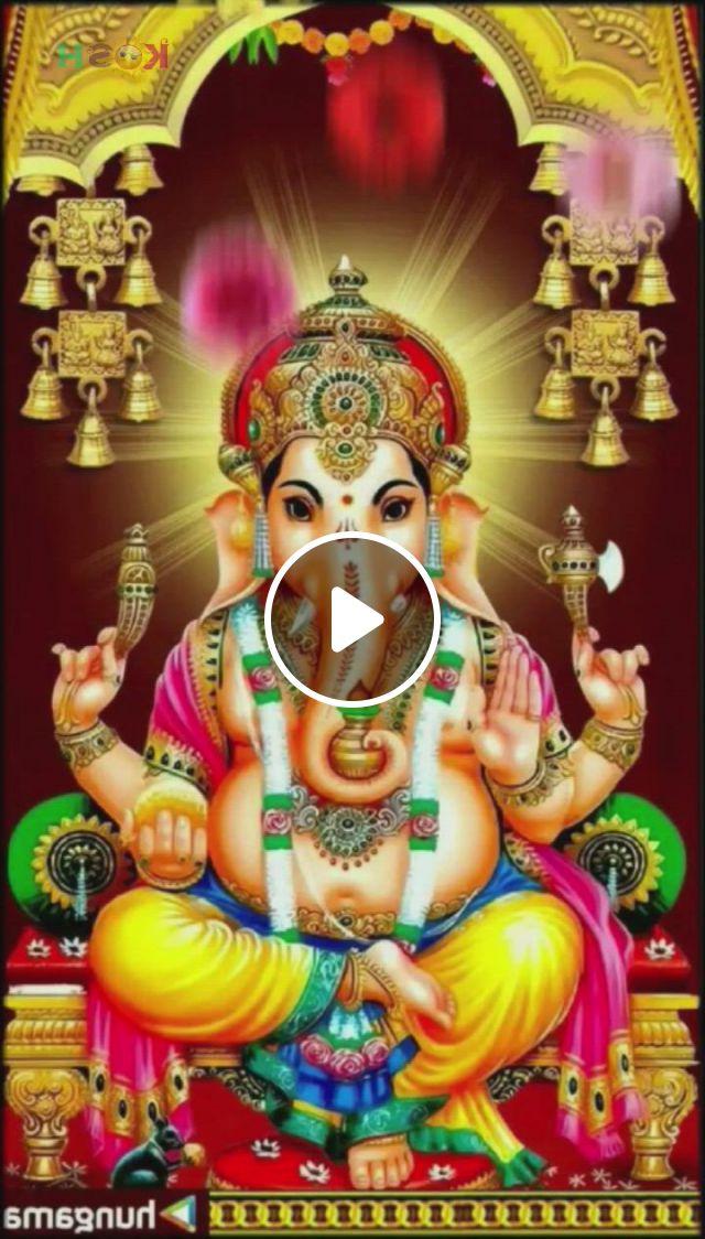 Vignaharta - Video & GIFs   lord ganesha, ganesha, beautiful birds