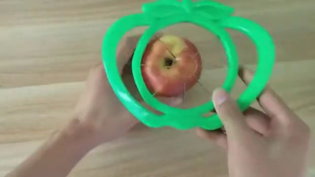 Kitchen Apple Slicer Cutter Pear Fruit Divider - Video & GIFs | gadgets and gizmos,cool gadgets,unique gadgets,baby gadgets,cool kitchen gadgets,travel gadgets,cereal containers,food storage containers,take my money,home decor accessories,kitchen gadgets,kids corner,cool stuff,inventions,cool ideas