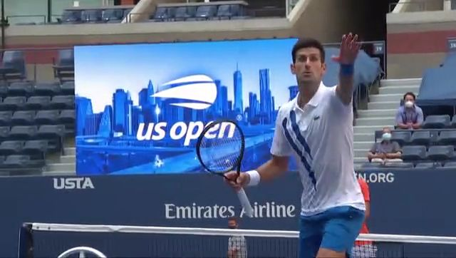 Djokovic defaulted from US Open after hitting lineswoman