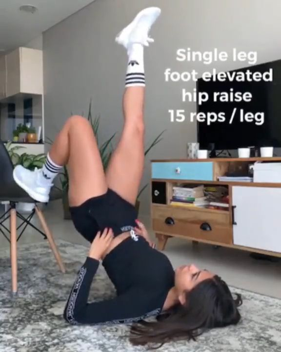 Legs and Booty Exercises At Home