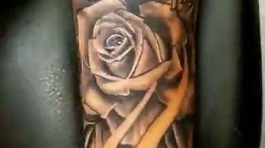Cute Rose tattoo - Video & GIFs | rose with compass tattoo,rose tattoo sleeve,tattoo,ink,half sleeve rose compass tattoo,rose tattoo sleeve for men,tattoos,new tattoo,new tattoos,my new tattoo,first tattoo,tattoo artist,tattoo vlog,getting my first tattoo,tattoo ideas,getting a tattoo,my tattoos,girls with tattoos,new tattoo design,tattoo design for men,best tattoo designs,tattoo making,permanent tattoo
