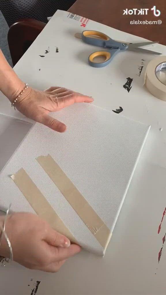 Amazing painting - Video & GIFs | diy canvas art painting,diy art painting,canvas painting tutorials,simple canvas paintings,easy canvas art,small canvas art,easy canvas painting,diy canvas,diy painting,canvas board,art painting gallery