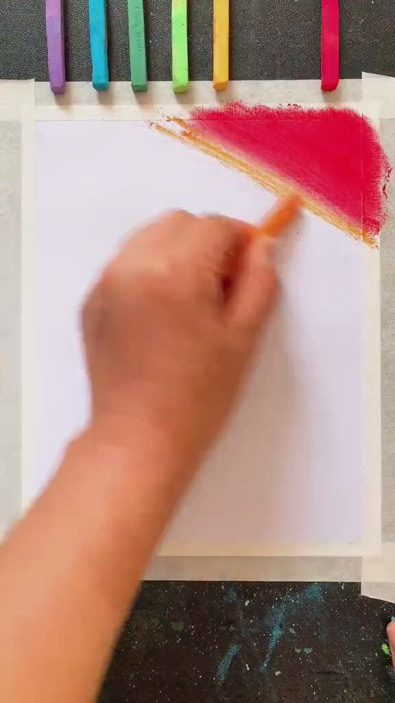 How to draw a beautiful dandelion - Video & GIFs   diy canvas art painting,diy art painting,painting art lesson,oil pastel crayons,oil pastel art,oil pastel drawings,art drawings sketches simple,dandelion painting,easy canvas painting,diy canvas art,crayon drawings,crayon art