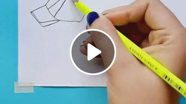 How To Draw A Girl In A Hat - Video & GIFs | art drawings simple, art drawings sketches creative, art drawings sketches simple, 3d art drawing, girl drawing sketches, art drawings beautiful, pencil art drawings, doodle drawings, easy drawings, doodle art, sketches of love