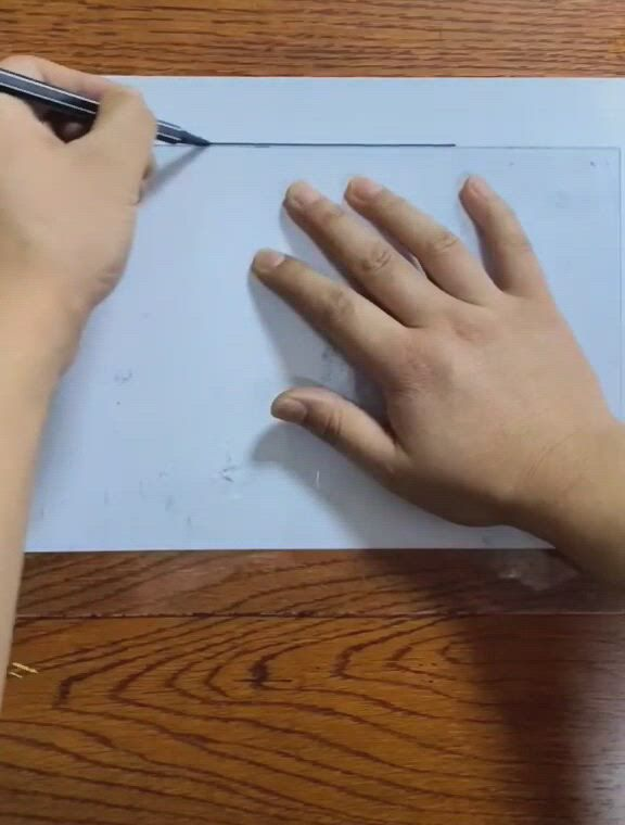 How to draw a ladder 3d effect