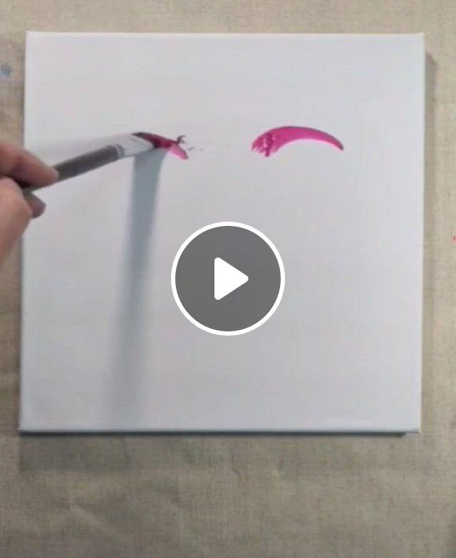 Moment Of Peace Art - Video & GIFs   canvas painting tutorials, diy canvas art, imagination art, art drawings sketches simple, peace art, creative art, painting \u0026 drawing, watercolor art, peace drawing
