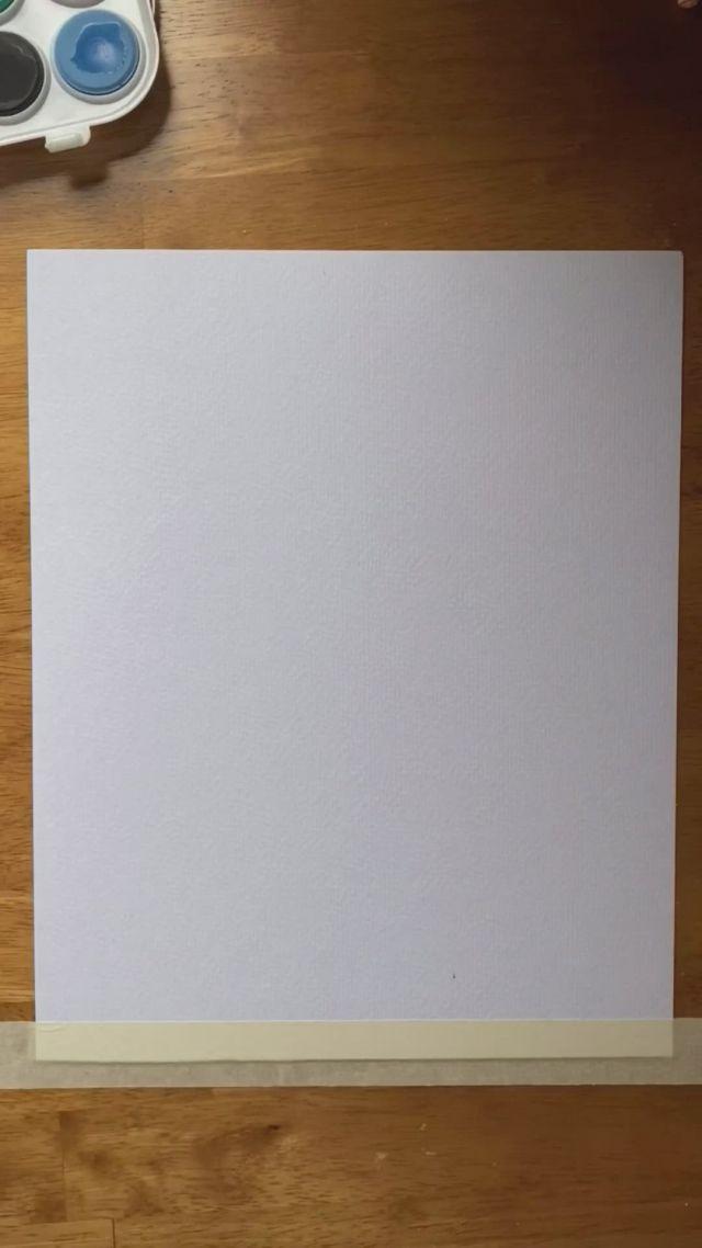 Diy Watercolor Card Ideas - Video & GIFs | diy watercolor,diy watercolor cards,watercolor cards,diy fashion,fashion tips,gift baskets,queen,home decor,gifts,craft,homemade home decor