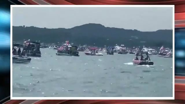 Boats sink during Trump Boat Parade on Texas lake