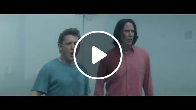Bill & Ted Face The Music - Trailer with Keanu Reeves, bill and ted, keanu reeves, american science fiction comedy film, directed by dean parisot, keanu reeves as ted, alex winter as bill, time to save the world, music save the world, charming and hilarious, journey most excellent