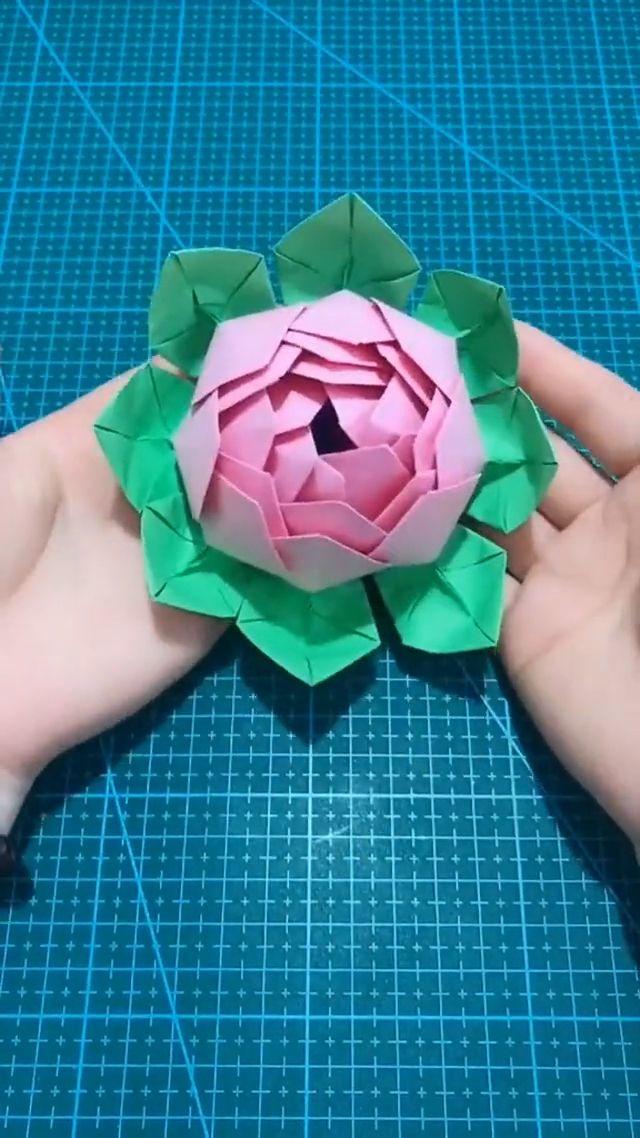 Lotus Flower Making