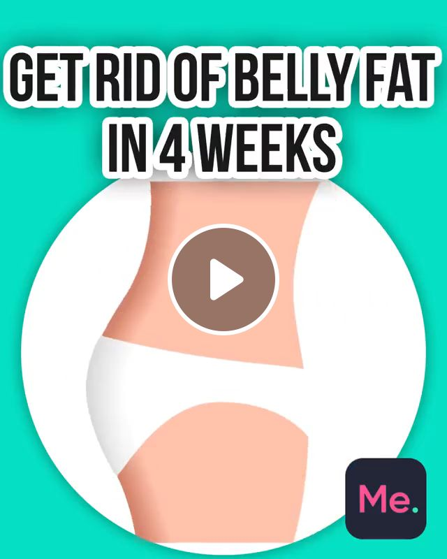 Get Rid of Belly Fat in 4 Weeks, mountain climbers, side leg lift, basic crunches, belly fat, workout at home, lose weight easy, exercises to lose fat