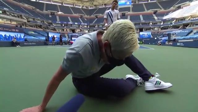 Novak Djokovic defaulted from US Open All Scenes