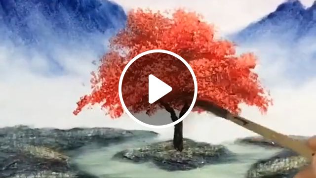Beautiful landscape tree