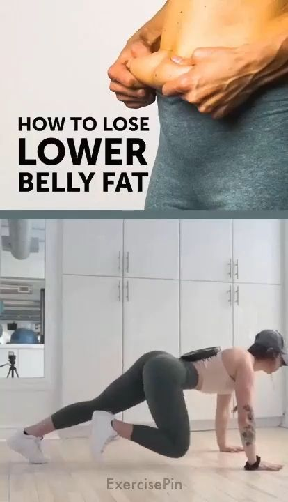 Lower belly fat workout for women