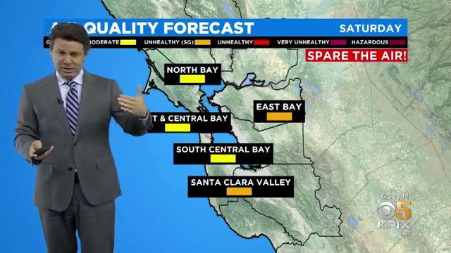 Smoke Plume Into Northern California