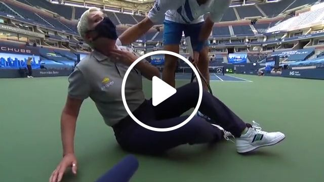 Djokovic Sensationally Disqualified From Us Open Discover Share Gifs