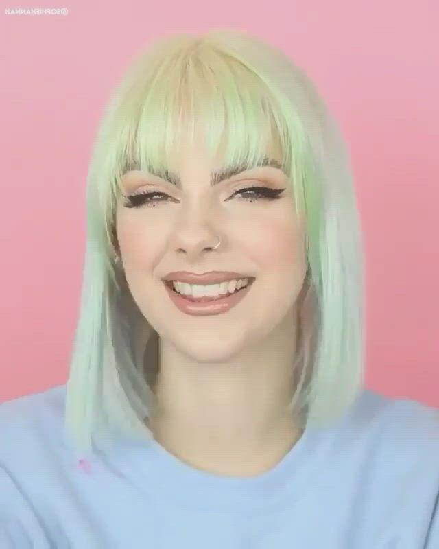 Cute hair dye