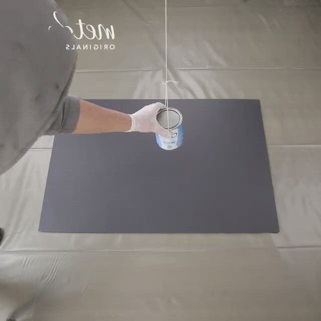 This painting method is so satisfying to watch
