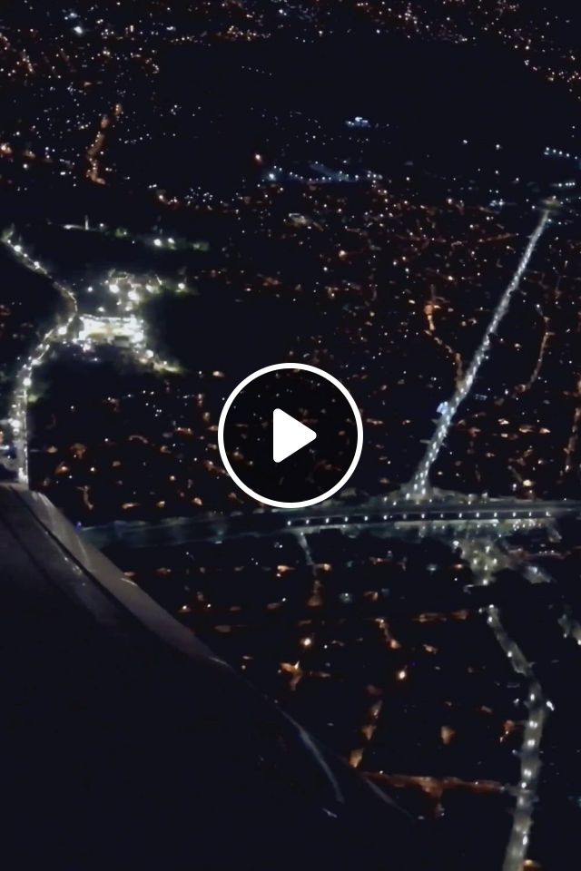 New York City Night Skyline View - Video & GIFs   night skyline, night scenery, night aesthetic, city aesthetic, aesthetic movies, aesthetic , travel aesthetic