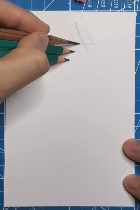 Amazing Pencil Drawing - Video & GIFs | paper crafts diy kids,cool pencil drawings,amazing art painting,art drawings sketches simple,easy drawings,5 minute crafts videos,craft videos,paper crafts origami,fun diy crafts,anime art girl,wall art designs