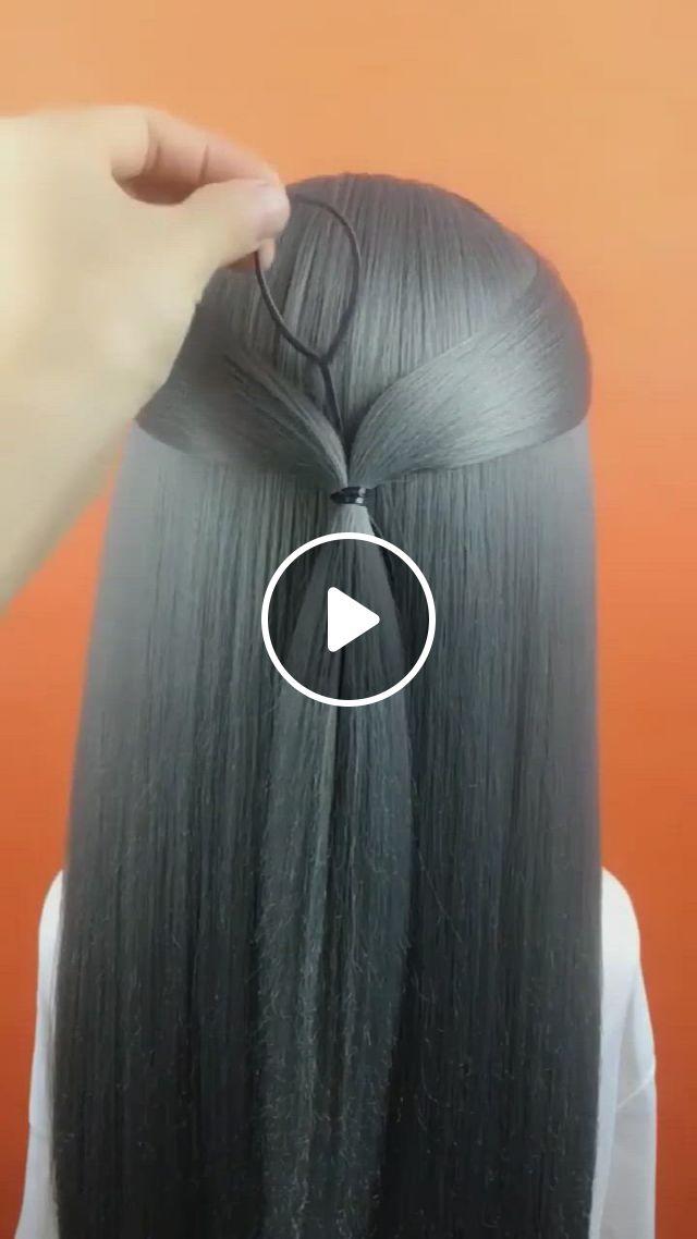 Hairstyle Tutorial 1754 - Video & GIFs | hair tutorial, short blonde hair, hairstyle, short blonde, blonde hair, tulle, hairstyles, fashion, hair cuts, moda, hairdos, blonde hair colour