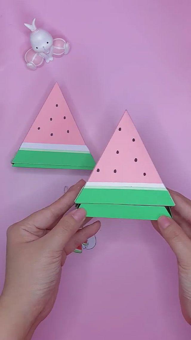 Origami Watermelon Tutorial