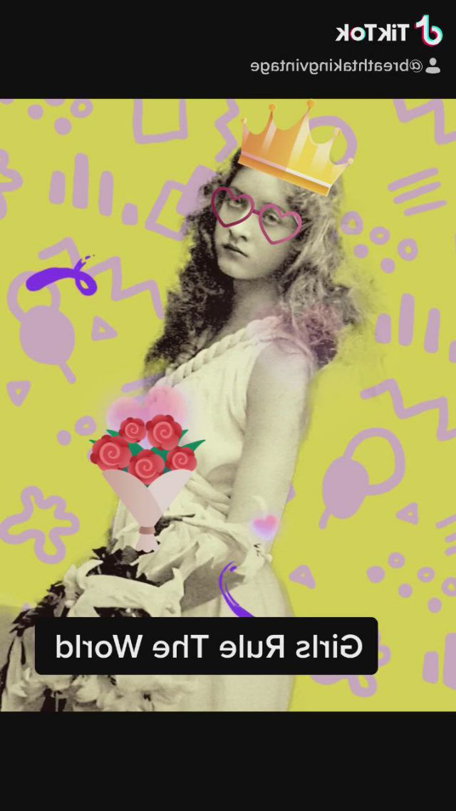 Girls rule - Video & GIFs | girls rules,vintage designs,cool gifs,vintage images,food ,surrealism,household,gifs,strength,children