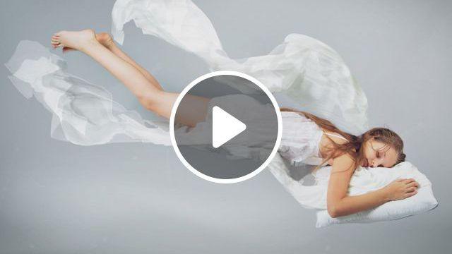 Sleeping Woman - Video & GIFs | for your health, mind body, silk pillowcase, bbc news, mantra, sleeping women, weird dreams, silk pillow, lucid dreaming, good night sleep, curly hair styles